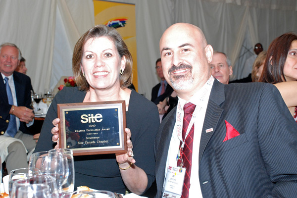 Site 2010 Chapter Excellence Award - Membership<br />Site Canada Chapter